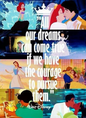 This is great!! Fight for what you want! Dream on