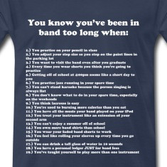 You know you've been in band too long when...