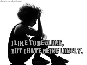 Like To Be Alone With Picture Sayings Quotes