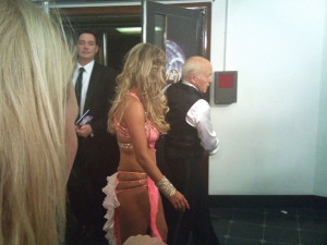 Paul Daniels and Ola Jordan