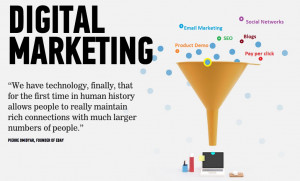 Digital Marketing Quote from PIERRE OMIDYAR