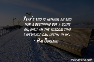 Year End Quote