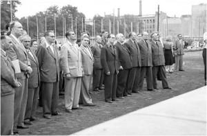 Erich Honecker Walter Ulbricht Wilhelm Pieck Anfang 50er Jahre picture