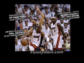 ... heat vs spurs game 7 chris bosh harras by spurs gay funny nba meme