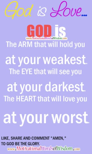 Godly Quotes About Love Godly quotes, words of wisdom,