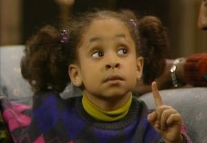 Raven-Symone como Olivia no Show de Cosby (Foto: Reprodução)