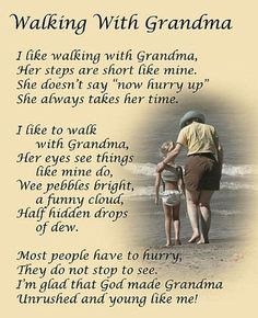 Loving Quotes For Grandma- Thank you grandma for teaching me how to do ...