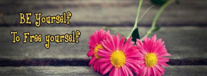 Facebook Cover Simple Self Motivational Quote