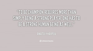 Quotes About Being A Champion