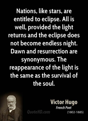 Nations, like stars, are entitled to eclipse. All is well, provided ...
