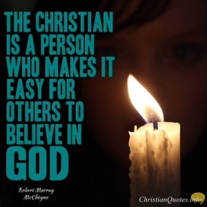 Robert Murray McCheyne Quote -