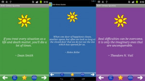 Apps Android contre le stress - Anti-Stress Quotes