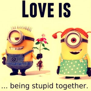 Showing Gallery For Minion I Love You Quotes For Him