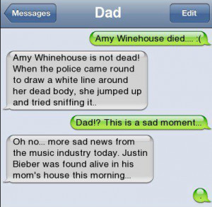 ... | Category: Funny Pictures // Tags: Funny dad text // March, 2013