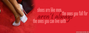 Shoes Are Like Men The Ones Cover