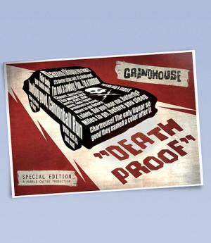 Death proof art print (420mm x 297mm)
