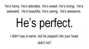 quote # saying # sayings # perfect # him # heis # name # names # head ...
