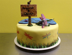 request a quote dragonfly cake design 300x230 Order