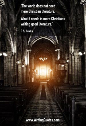 CS Lewis Quotes – Christians Literature – Famous Quotes About ...