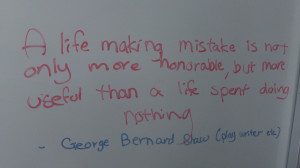 Posted in Grade 8B Tutor Group 2013-2014 | Tagged inspirational quotes ...