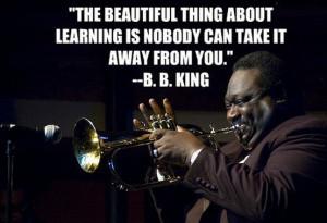 wisdom from B.B. King