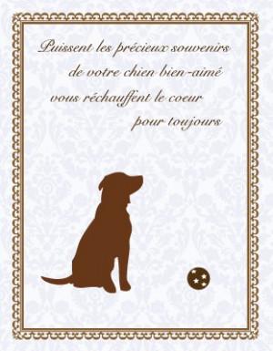 dog sympathy cards