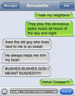 bad neighbors?