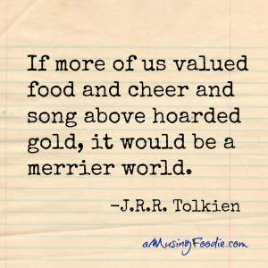 it would be a merrier world j r r tolkien