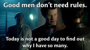 Funny Doctor Who Quotes Matt Smith What quotes from the show (the