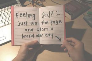 start a new chapter :]