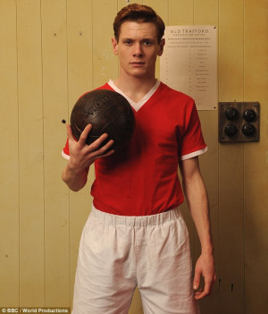 Lead role: Jack O'Connell, seen here as Bobby Charlton in TV series ...