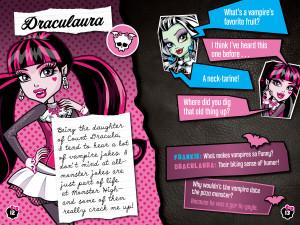 Monster High Joke Book