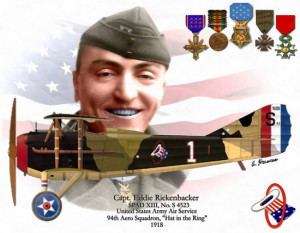 Thread: Life of Racecar Driver and WWI Ace Eddie Rickenbacker
