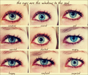 The Eyes Are The Windows To The Soul