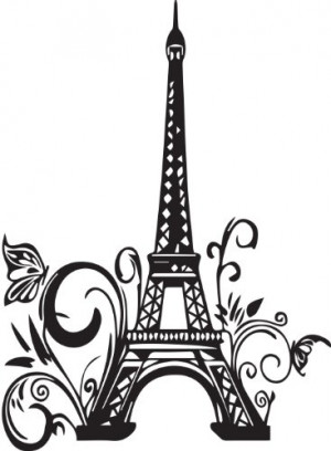 Cute-Wall-Decals-Eiffel-Tower-Paris-Large-Wall-Quote-Decal-home-Art ...