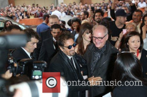 Picture Al Pacino and Barry Levinson Toronto Canada Thursday 4th