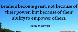 Inspiring Leadership Quotes by Great Leaders