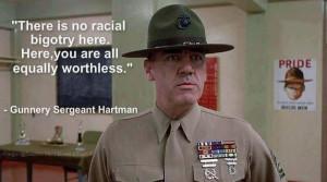 Gunnery Sergeant Hartman