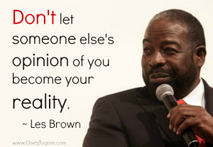 More Les Brown's Quotes