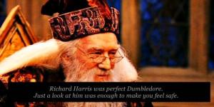 Richard Harris was the perfect Dumbledore