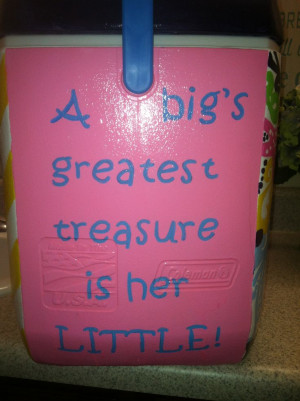 Alpha Xi Delta | painted cooler | Big Little | quote | TSMQuote