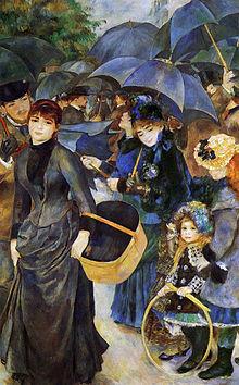 Les Parapluies (The Umbrellas) - 1883.