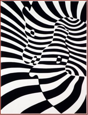 Victor Vasarely Zebra picture