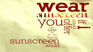 sunscreen all summer #quotes