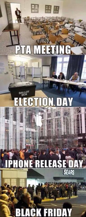 Election Day Vs Black Friday