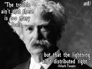 Famous Insults From Mark Twain