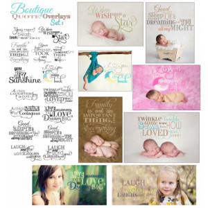 Boutique Quote Overlays