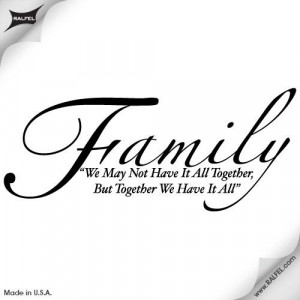 Family Quotes Tattoos
