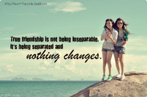 Friendship Distance Quotes Tumblr