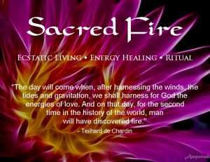 sacred fire quote